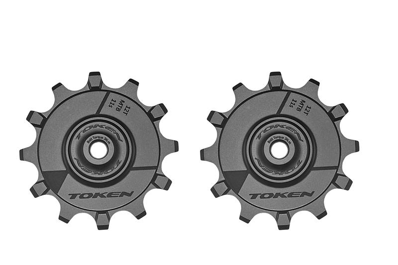 pulley hjul-token-mtb-1722x-alu-sort-12-alm