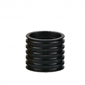 spacer-token-all-1231-alu-5/10/15mm-riflet-1 1/8-sort