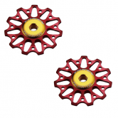 pulley hjul-token-road-1721-campa-alu-rød-11-alm