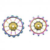 pulley hjul-token-all-1724xs/AXS-alu-oil/slick-12/14-tbt
