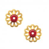 pulley hjul-token-all-1730/2-alu-guld-11-alm