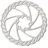 bremseskive-prg-mtb-pbr03/oem-203mm-6hul-rf/stål-sølv