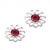 pulley hjul-token-mtb/road-1701-alu-sølv-10-alm