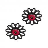 pulley hjul-token-mtb/road-1701-alu-sort-10-alm