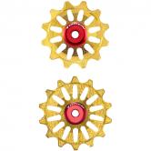 pulley hjul-token-mtb-1724x-alu-guld-12/14-alm